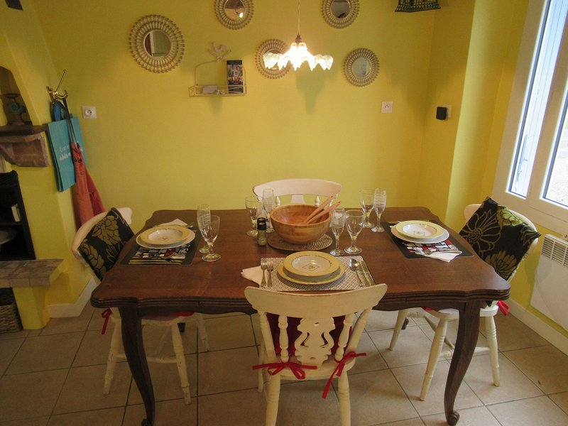La Maison du Bonheur, vacation rental in Vaux-Rouillac