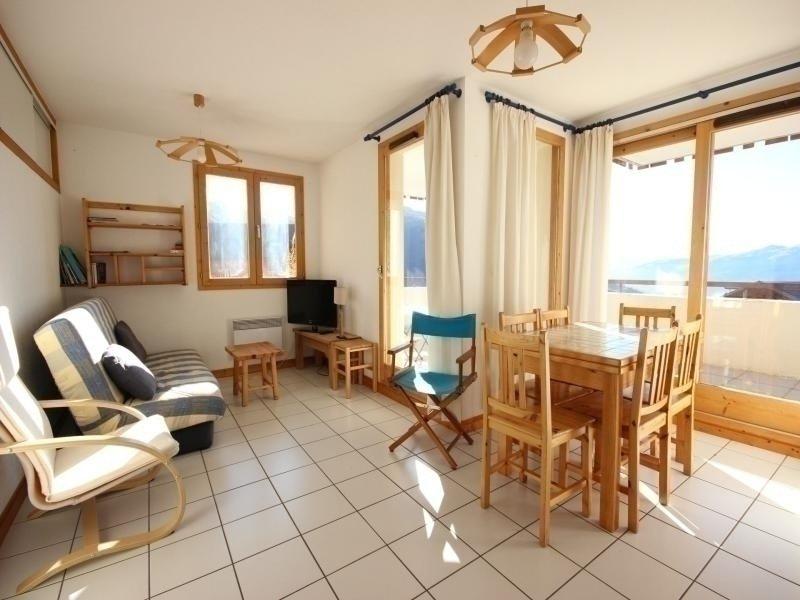 Bel appartement 3 pièces 7 personnes à Vallandry dans un quartier calme et, holiday rental in Peisey-Vallandry