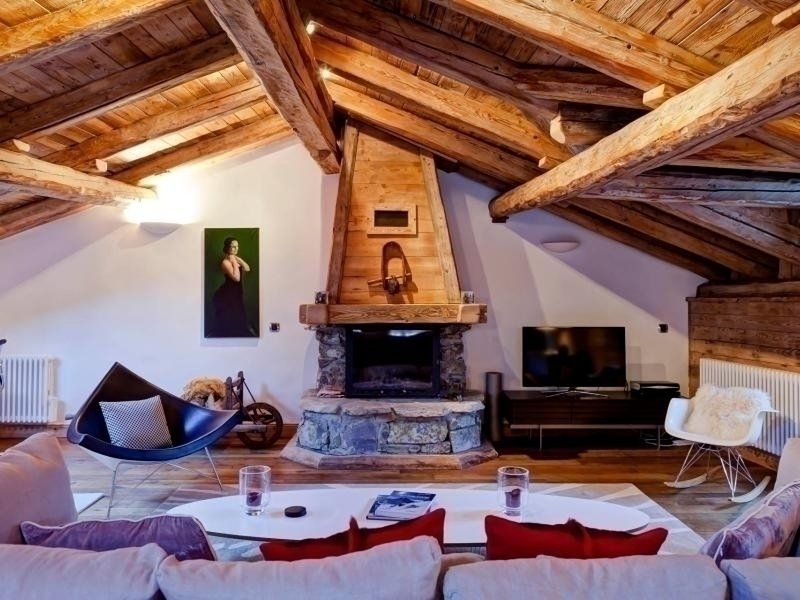 Courchevel 1300 : magnifique maison de village de 200m² avec 4 chambres, holiday rental in Saint-Bon-Tarentaise