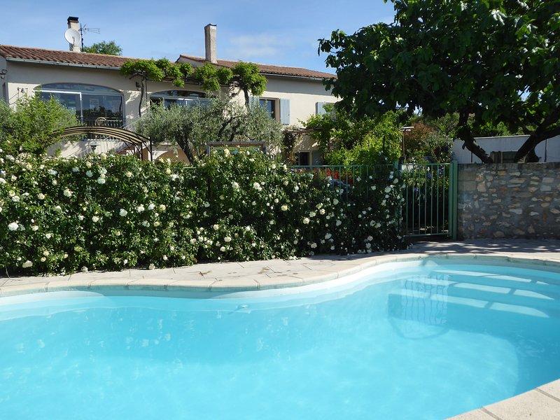 Studio de charme Les Iris, vacation rental in Collias