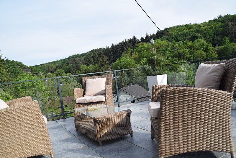 Ferienhaus Traumblick, location de vacances à Munstermaifeld