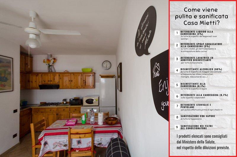 Casa Mietti: appartamento autonomo e centrale, location de vacances à Coriano