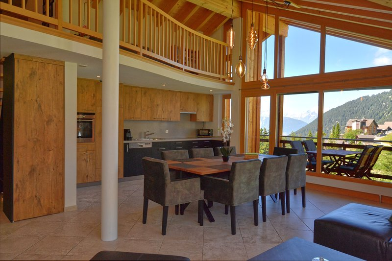 Bella Vista Penthouse, holiday rental in Riederalp