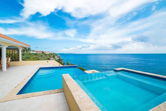 ❃Caribbean Dream❃ with Ocean View Infinity Pool, holiday rental in Sint Willibrordus