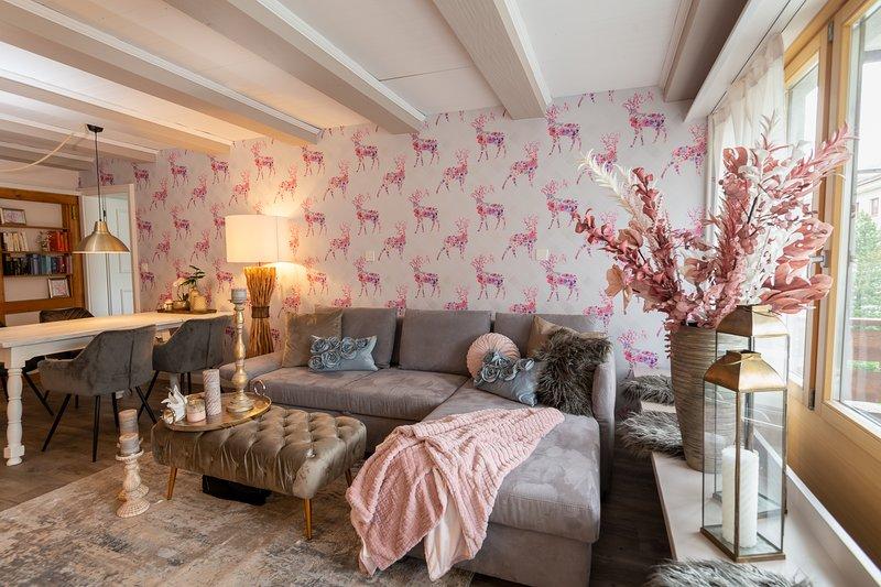Gemütlich 3-Zimmer Wohnung in Davos Dorf, idealer Ausgangspunkt für Ausflüge, alquiler de vacaciones en Klosters