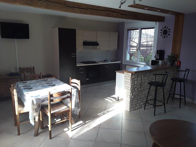 Gîte à la ferme - Baie de Somme 3* 5/7 personnes, holiday rental in Saint-Quentin-la-Motte-Croix-au-Bailly
