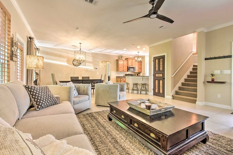 This spacious home boasts 2,052 square feet of living space.