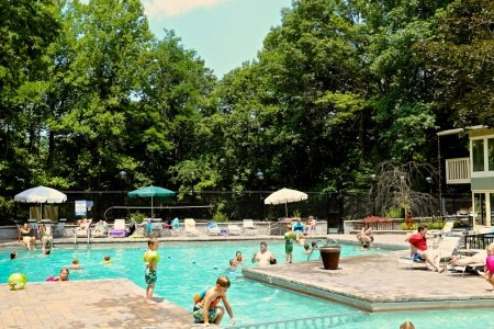 Swimming Pool open from Memorial Day to Labor Day. Free to use.