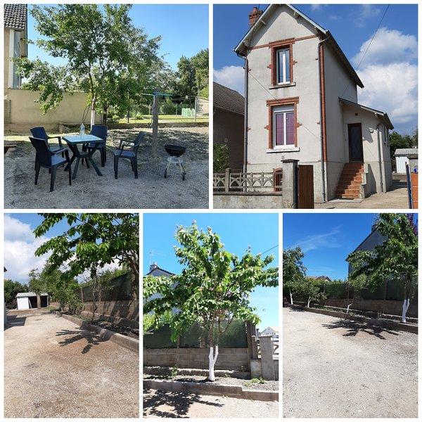 La petite escale, location de vacances à Neuvy-sur-Barangeon