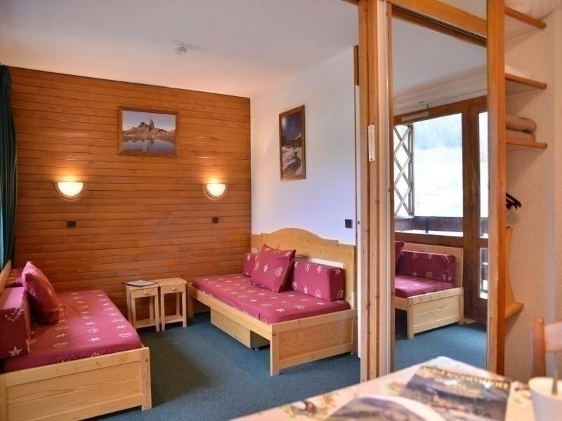 Studio divisible au pied des pistes de 4 personnes de 28 m², alquiler de vacaciones en Plagne Bellecote