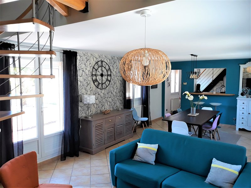 'La Jongleuse' maison à 5 min de Dieppe, entre mer et forêt..., location de vacances à Belleville-sur-Mer
