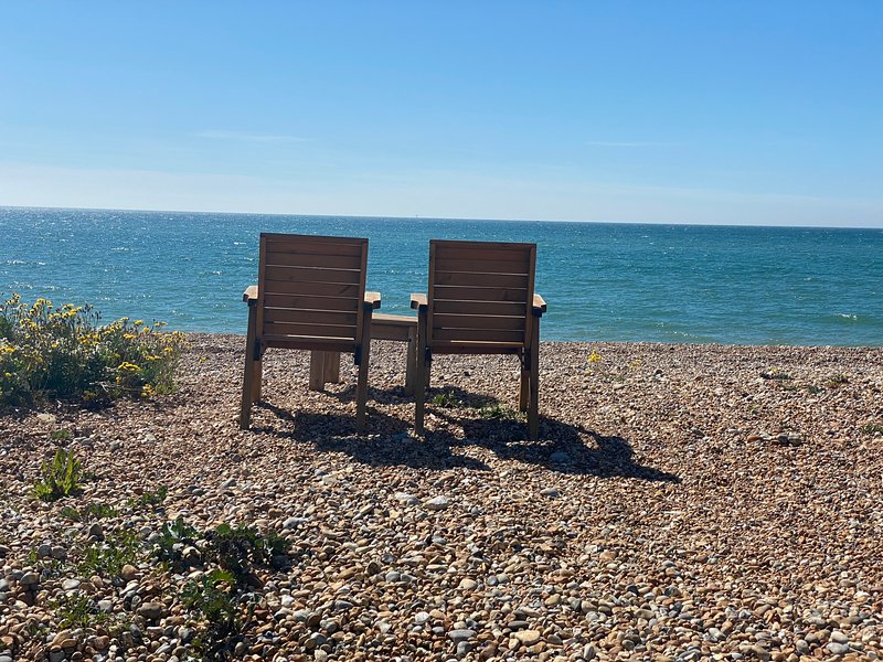 Beach front property, holiday rental in Pevensey