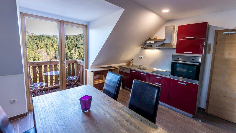 Apartment Smogavc - Divja Cesnja, location de vacances à Slovenska Bistrica