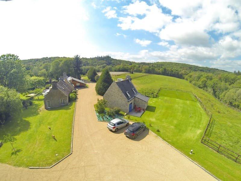 maison de vacances 4* de 5/6 personnes parcours de jeux enfant, étang de pêche, vacation rental in Quimperle