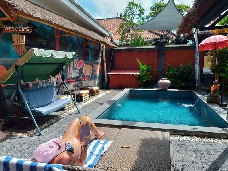 Rumah Satu - Pondok Gaya - Self Catering - Shared Pool, holiday rental in Dangin Puri