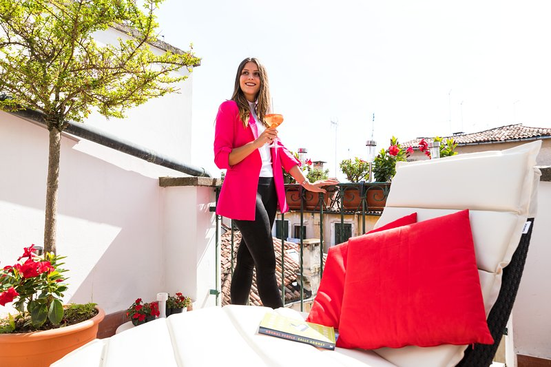 Aperolsprtiz at the terrace