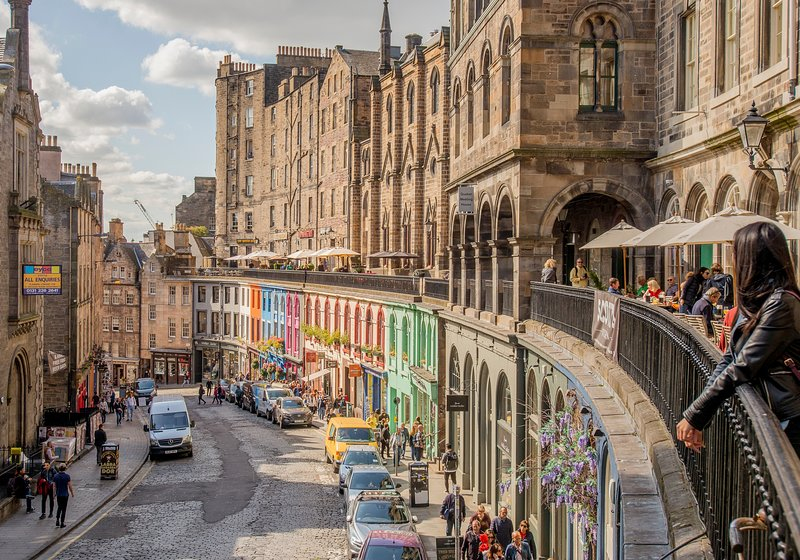 West Bow (Victoria St) just off Royal Mile, vacation rental in Edinburgh