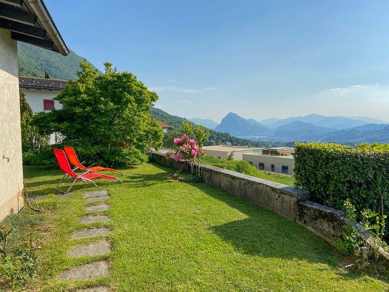 Cityview Lugano - Casa Carlo, holiday rental in Comano