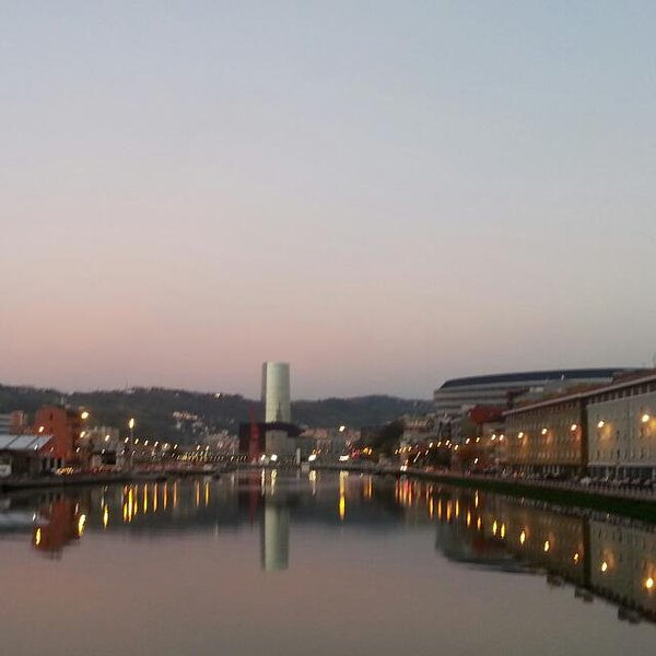 Bilbao a 40 km del alojamiento