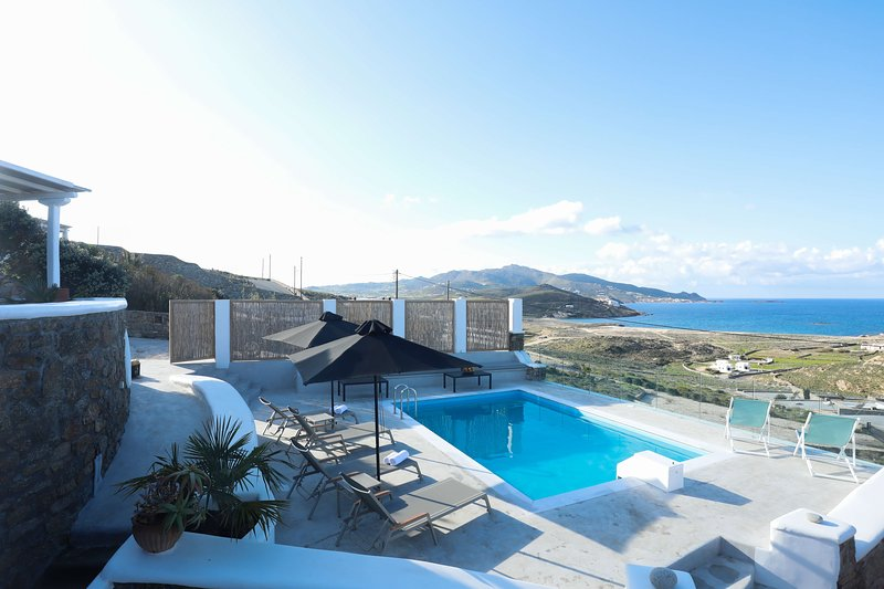 Villa Maya near to Alemagou private pool & seaview by GHH, holiday rental in Ftelia