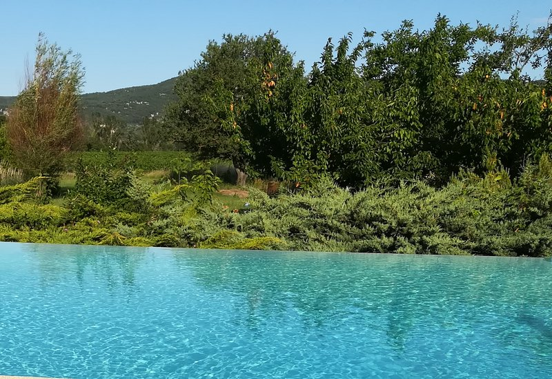 Chambre ORIGAMI et table d'hôtes SPA, piscine, billard..., aluguéis de temporada em Berrias et Castejau