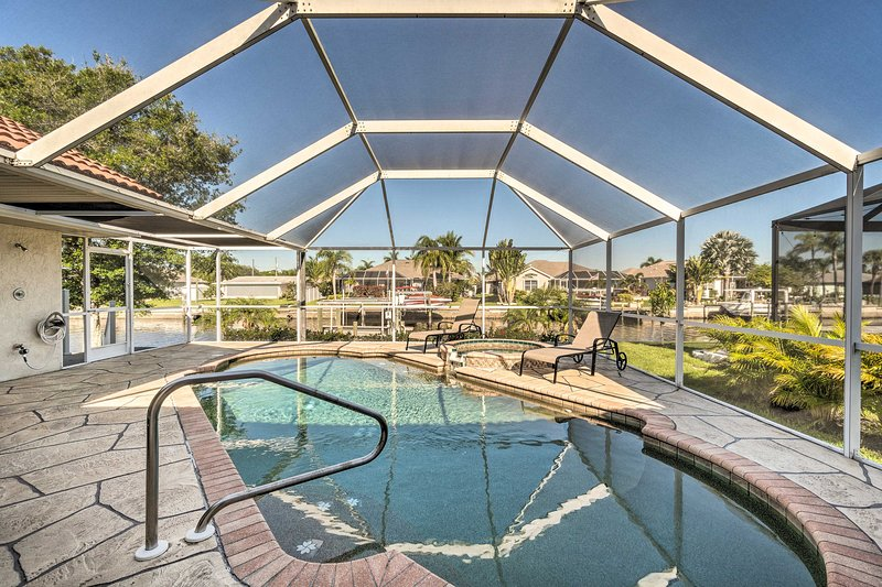 Swim in your vacation rental's own backyard oasis!