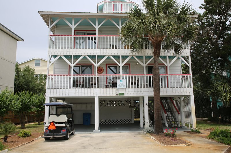 Oceanview South End Cottage, holiday rental in Tybee Island