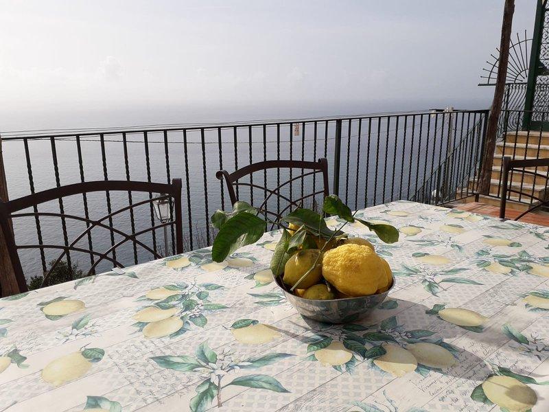 RIFUGIO STELLATO TRA POSITANO E AMALFI, vacation rental in Conca dei Marini