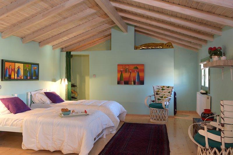 Village Stone House, holiday rental in Agios Matthaios
