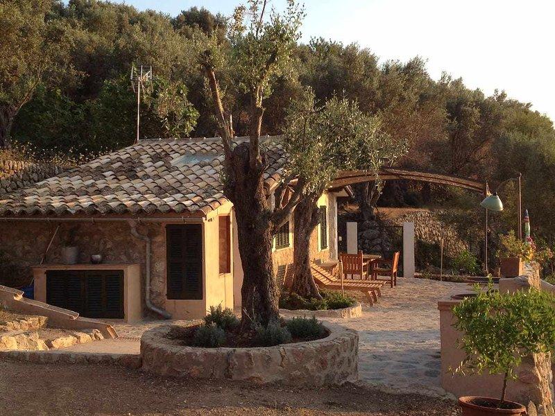 Sa Menta, Cabaña Ecologica, holiday rental in Sa Calobra