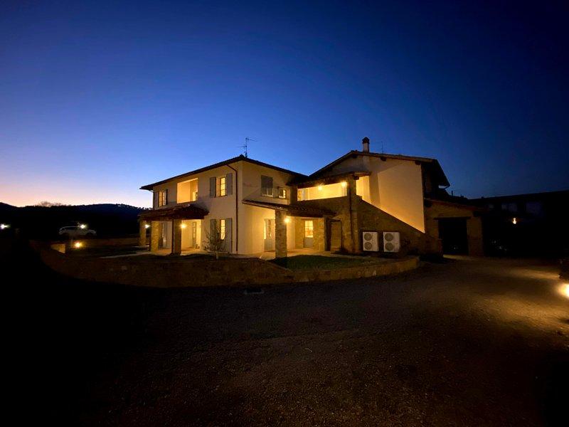 Il Cerro,villa immersa in un luogo senza tempo, vacation rental in Pieve A Maiano