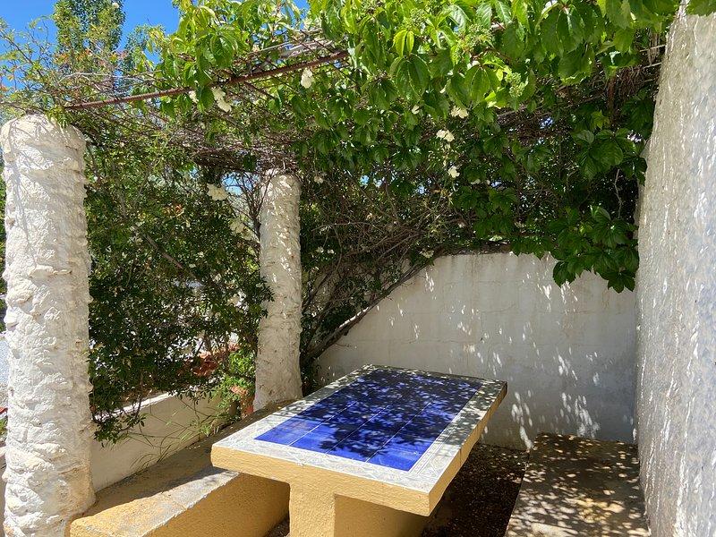 Mesa jardín privada