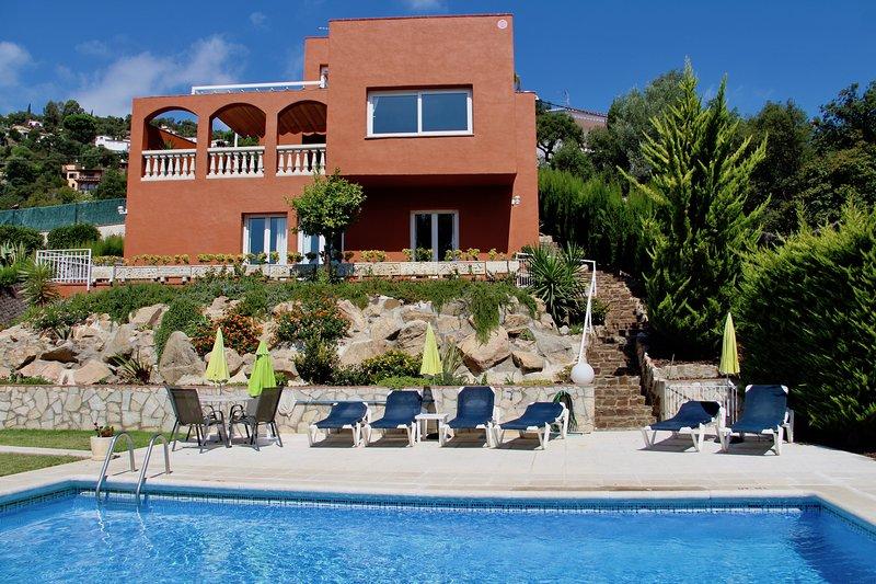 Casamar, preciosa casa con piscina privada y wifi gratis., holiday rental in Calonge