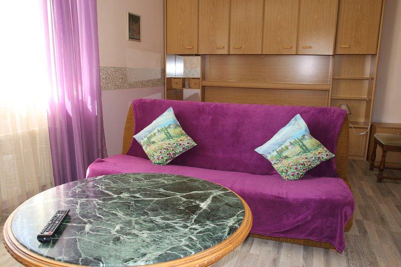 STUDIO APARTMENT  FOR RENT IN KLAIPEDA - GARDEN VIEW, holiday rental in Priekule