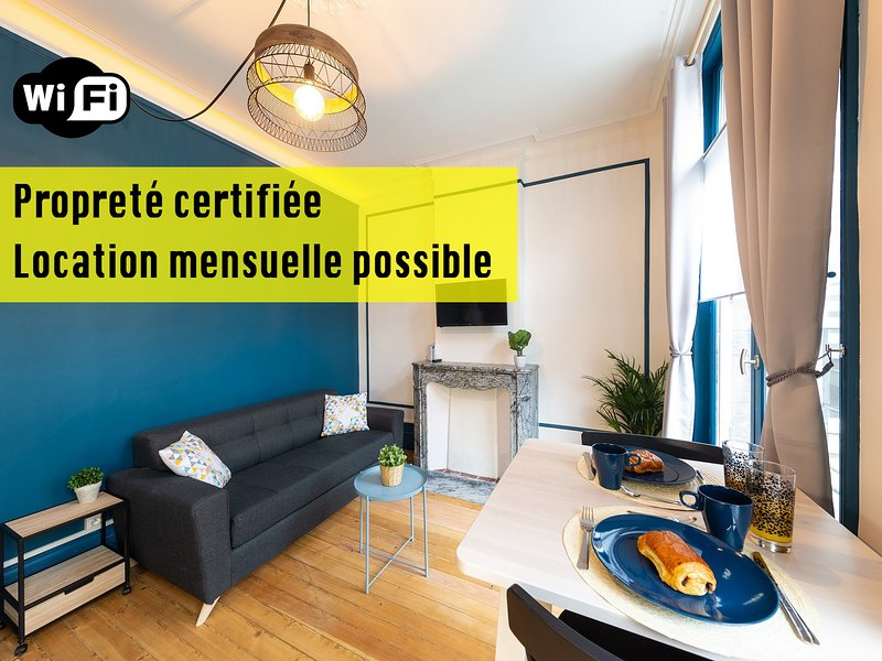 Appart'Hotel - CoCon Des Anges - Valenciennes, holiday rental in Vieux-Conde