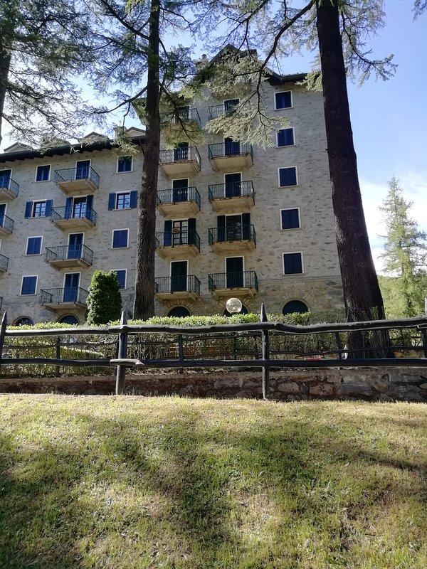 Esterno appartamento con 2 balconi