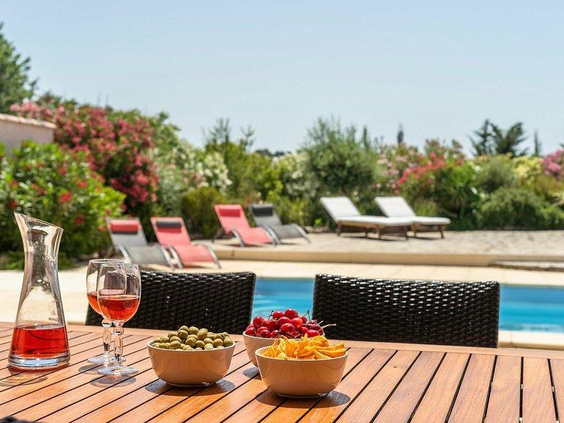 Villa Aude Vie, holiday rental in Escales