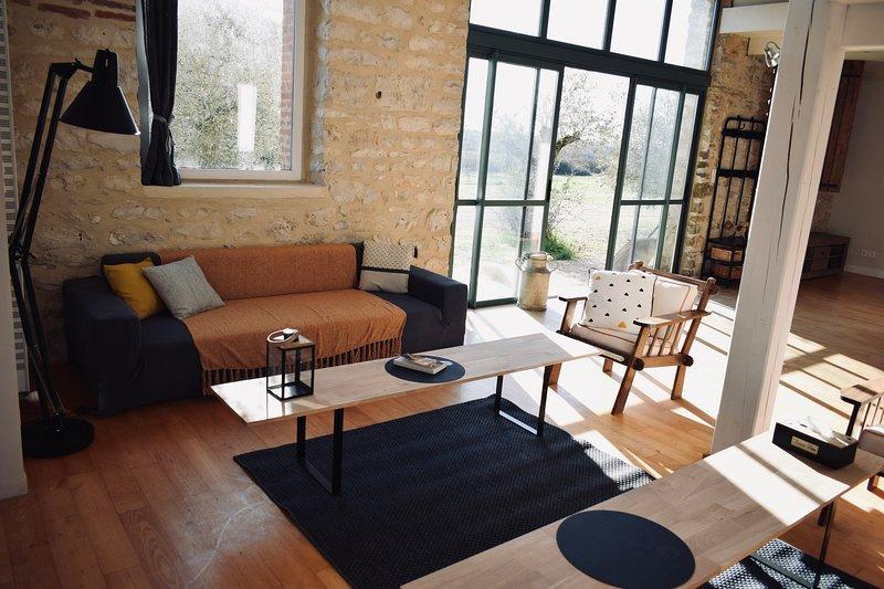 Gite de charme au domaine des ses, holiday rental in Monteils