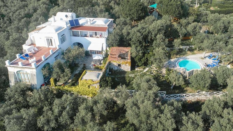 Villa Morgan vista dall'alto