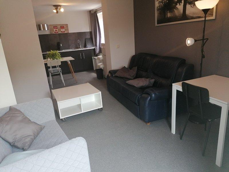 Gelijkvloers Appartement, location de vacances à Borlo