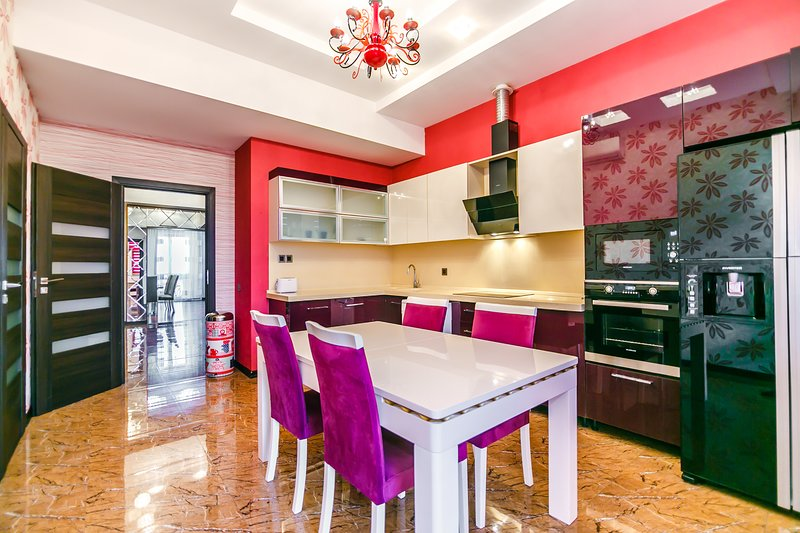 Luxury apartment in Clock Tower by Time Group, vakantiewoning in Bakoe