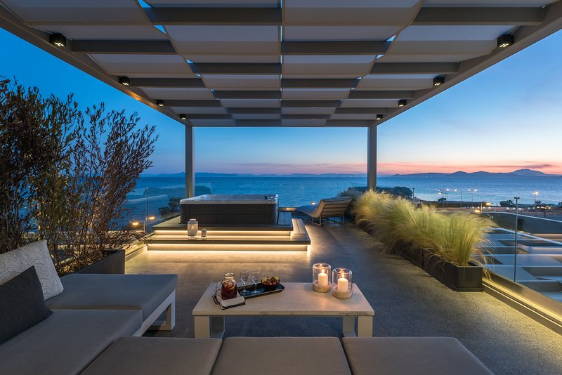 Ensis D1 Penthouse Suite Magnificent Sea View, holiday rental in Alimos