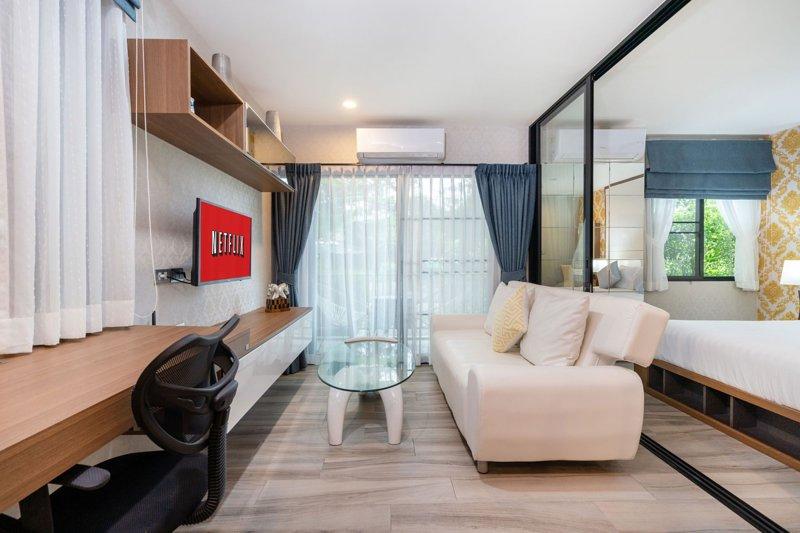 The Title Residence Naiyang by Naiyangrental F109, vacation rental in Nai Yang