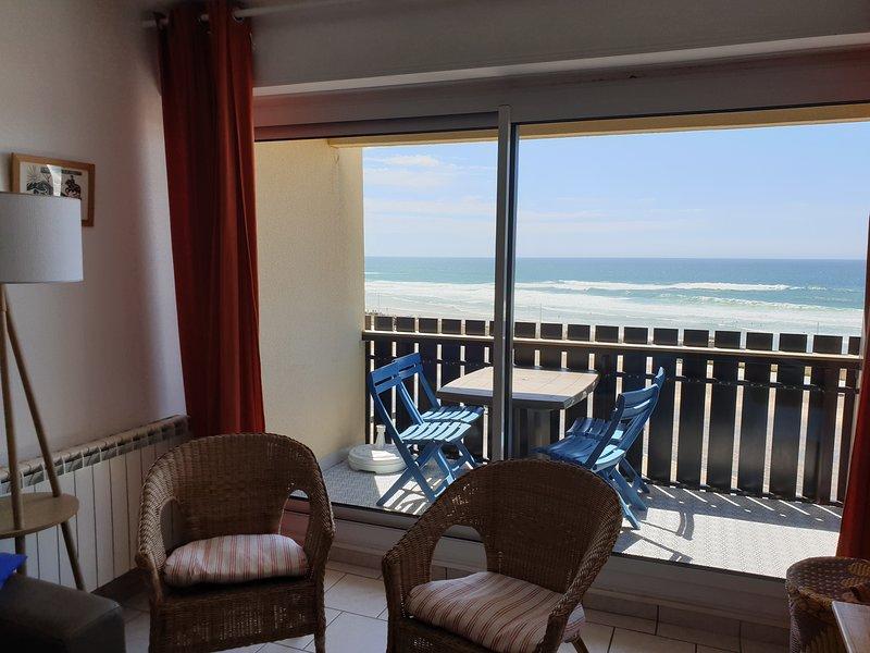 DUPLEX FANTASTIC OCEAN VIEW .  superbe vue océan, wifi, parking, linge compris, vacation rental in Lacanau