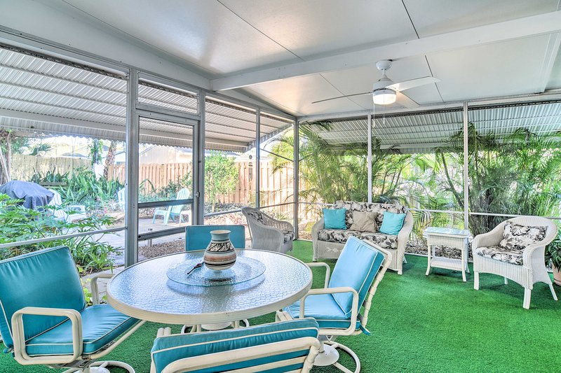 Tranquil Sarasota Home < 1 Mile to Boat Launch!, vacation rental in Osprey