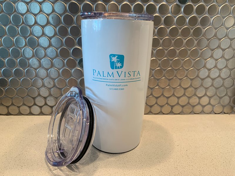 "Each Guest receives a gift of a ""Yeti"" style tumbler to keep your drinks cool at the beach or pool."