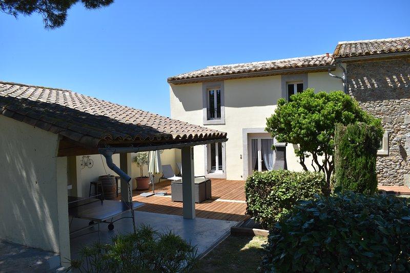 Superb Gite - Olive Tree Cottage, holiday rental in Blomac