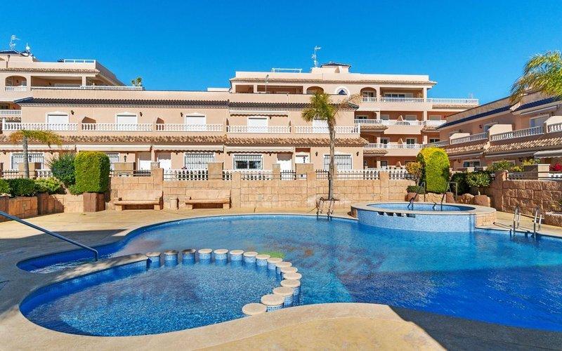 Vista Azul XII - El Barranco (next to pool), holiday rental in Los Dolses