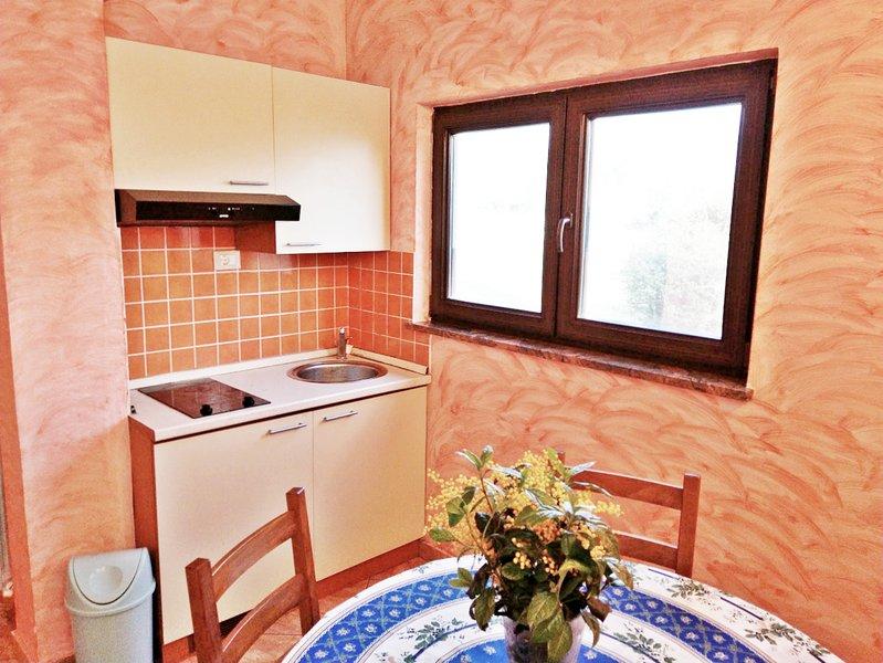 Appartamento Maria Umag-Barboj 3 min dal mare Wifi 2 camere tranquillo, vacation rental in Kanegra