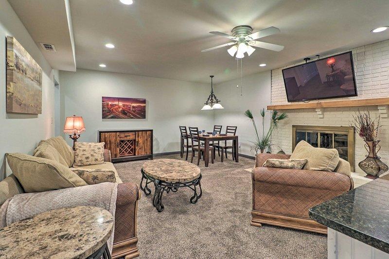NEW! Basement Hideaway < 3 Mi to Pinewood Studios!, vacation rental in Jonesboro